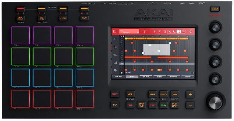 Akai pads, a touch screen, an MPC - what more could you want?