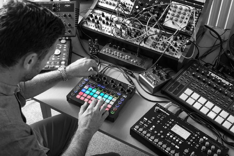 Novation Circuit in a studio scenario.