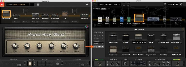 Bias Amp 2 has some integration with Bias FX