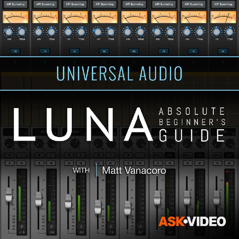 Learn UAD LUNA with these Ask.Video tutorials