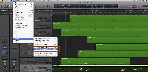Use this command to get each track out of Logic as its own audio file.