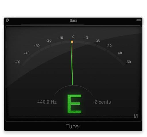 Fig 1 Use a tuner but always let your ears  have the final word.