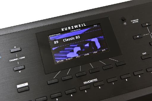 Kurzweil Forte screen