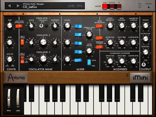 What's that coming over the hill? It's a Moog!