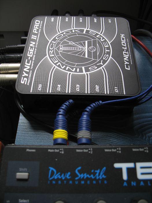 The Sync-Gen II Pro quietly doing its job in my studio.
