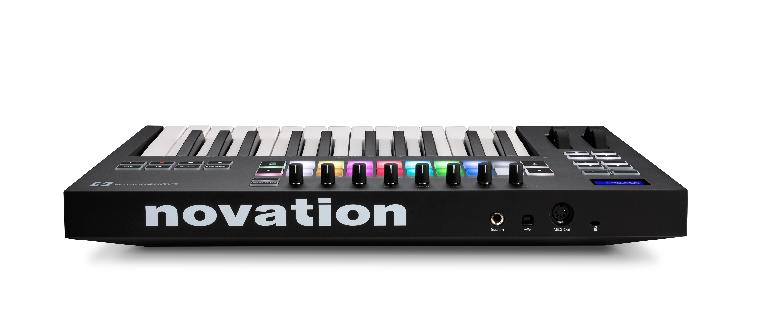 Novation Launchkey 25 rear view