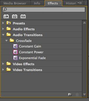 Effects Folders