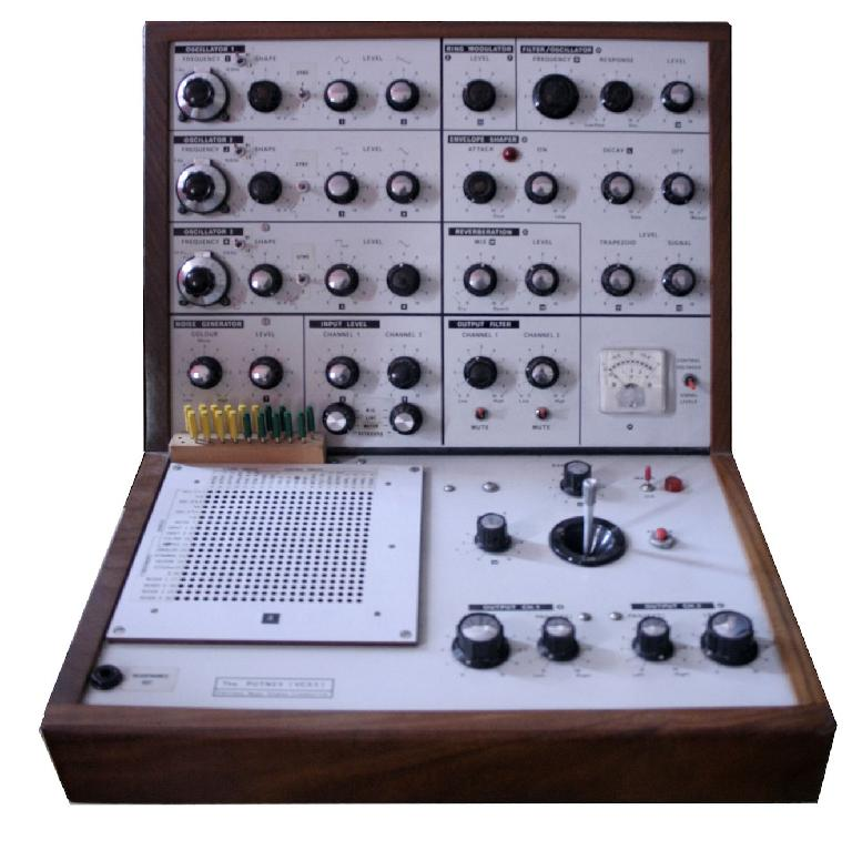 The EMS VCS3 Putney was one of the first synths to use the Diode Ladder Filter which later became part of the iconic sound of the Roland TB-303