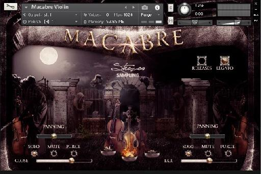 Figure 2 – Macabre Kontakt Player
