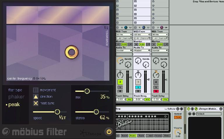 iZotope Mobius Filter in Ableton Live