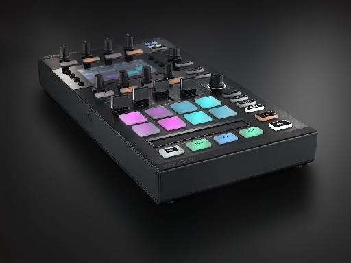 Traktor D2's Touch Strip is useful for scrolling through a track and scratching.