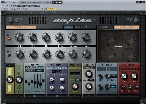Ampire XT add-on for PreSonus Studio One 2.6.2.