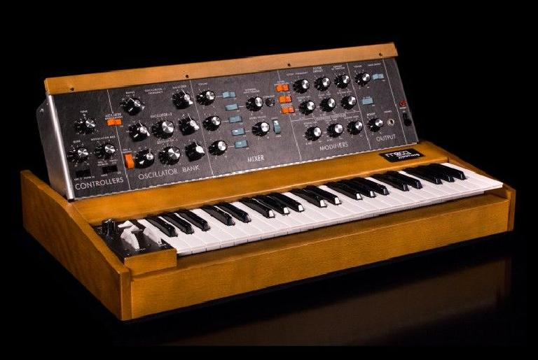 Moog Minimoog Model D Reissue.