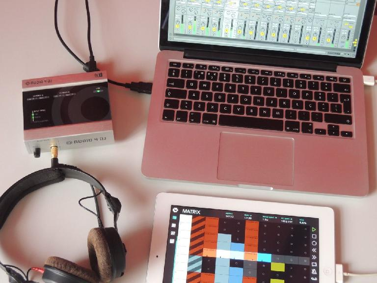 controlling Ableton Live from iPad