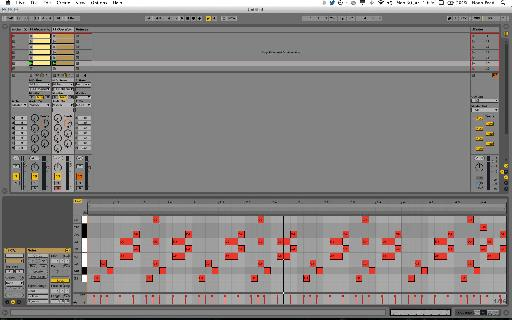 The final 4-bar sequence, as captured in our MIDI clip.