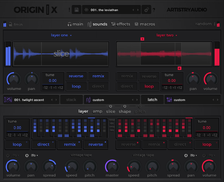 Artistry Audio Origin X Modern Loop Engine