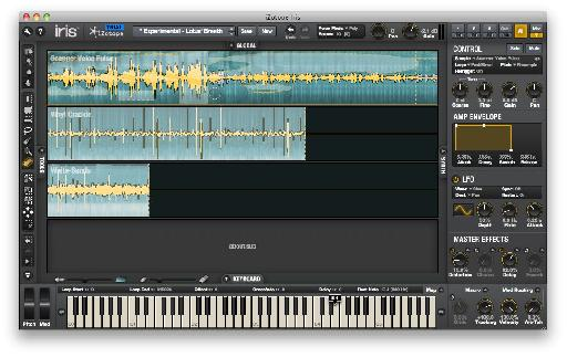 Layer up to three samples per patch plus a sub, and edit them all from a single screen.