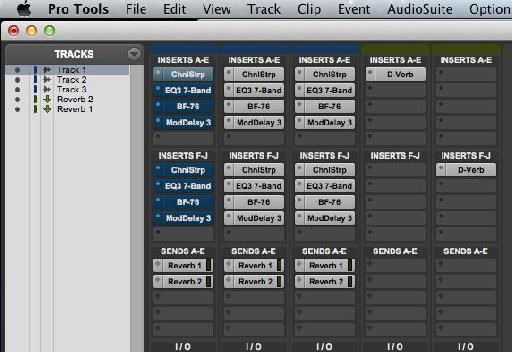 The bypass commands only work on selected tracks. This is the effect of using Shift-A with one track selected.
