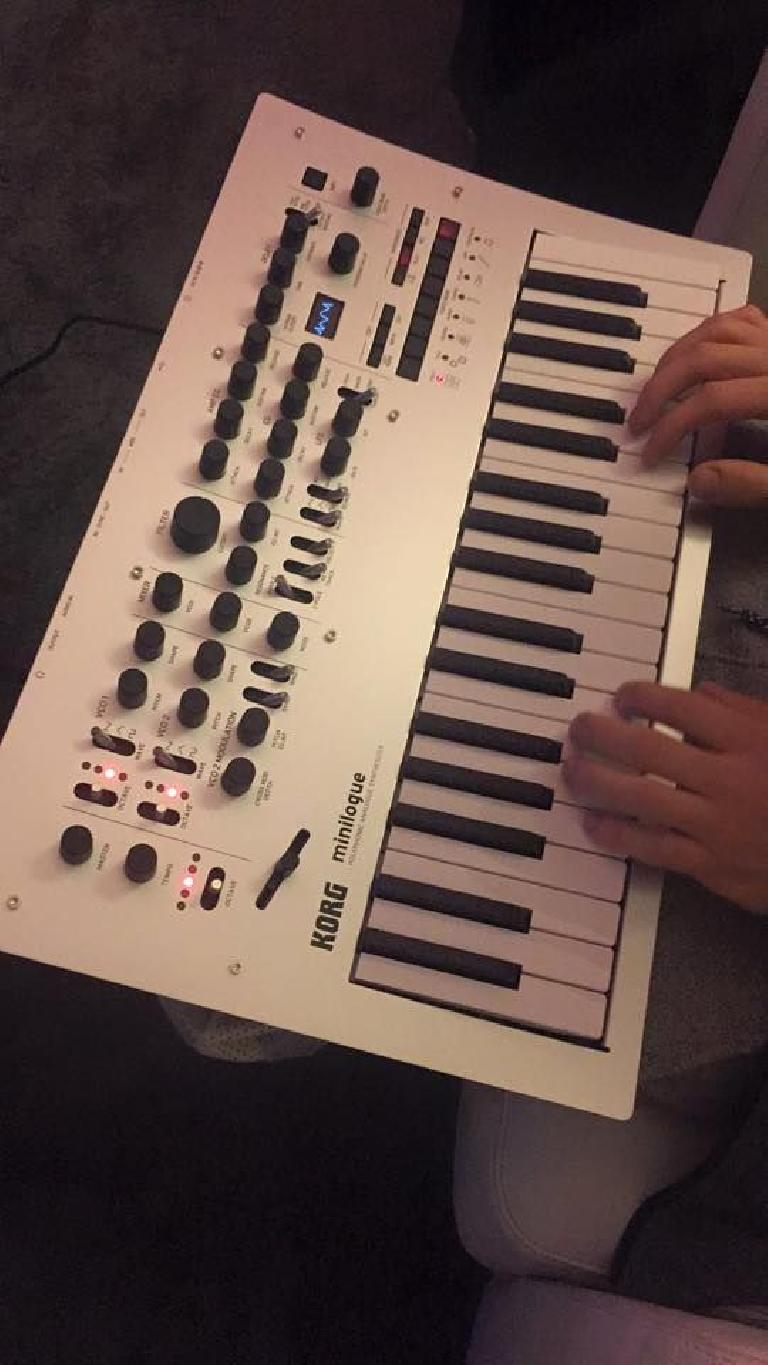 Korg Minilogue leaked picture.