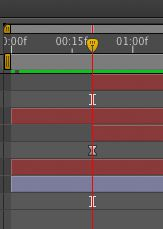 Adjusting the animation timing of both layers