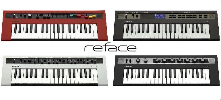 Yamaha reface synths