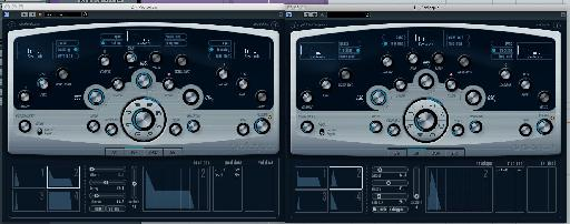 A second synth is added and layered with the original.