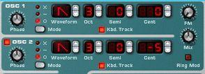 detuning oscillator 2