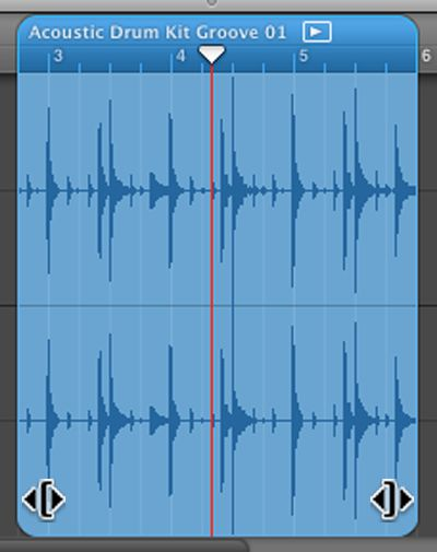 Audio regions in the Track Editor can be trimmed from either end - MIDI regions cannot!.