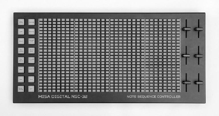 The Misa Digital NSC-32 sequencer and MIDI controller