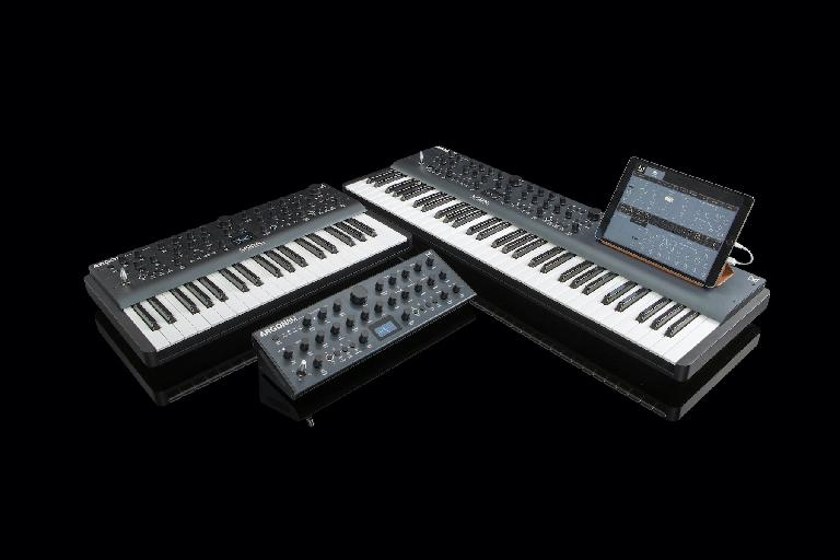 ARGON8 family of synthesizers