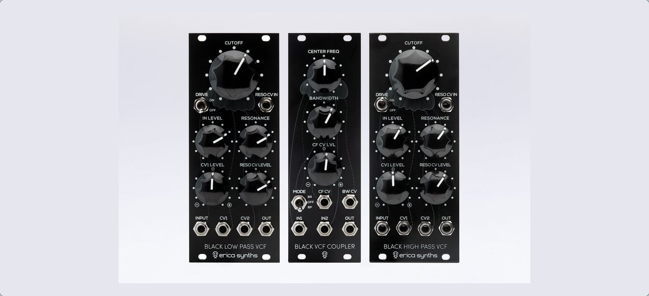 Erica Synths Releases Three New Filter Modules