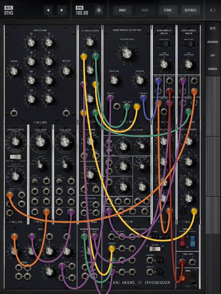 Moog Music Model 15 1.1.1