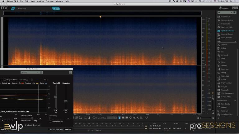 iZotope RX Sectral De-Noiser