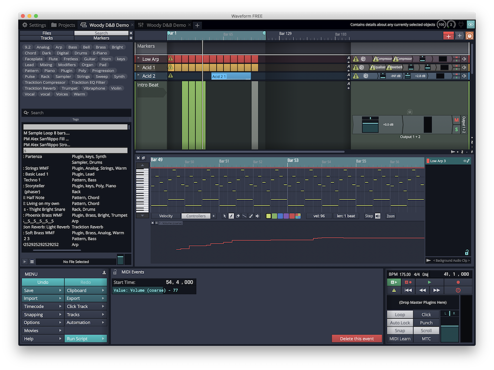 Review Tracktion Waveform 11 Free Ask Audio