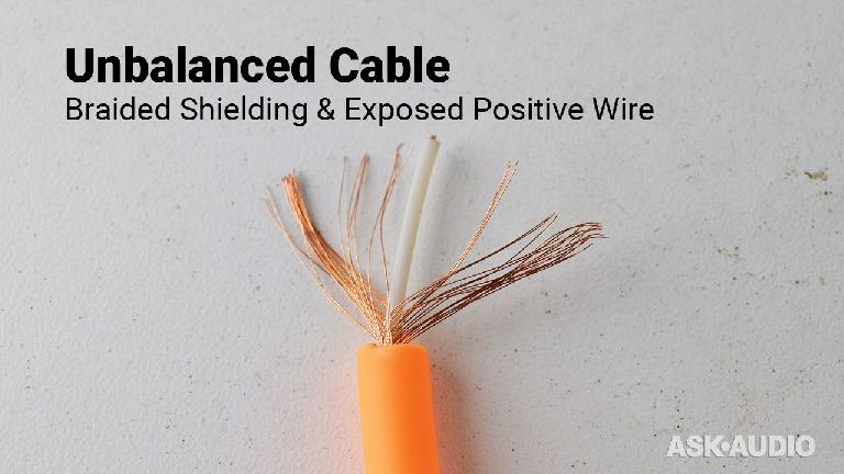 Unbalanced positive wire shielding