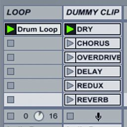 Using Dummy Clips To Trigger Effects In Ableton Live Ask Audio