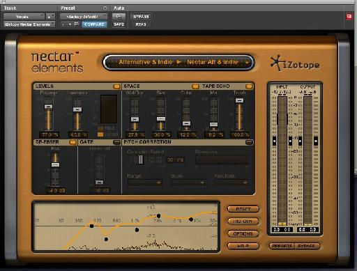 Pic 2 - Nectar Alternative and Indie Preset.