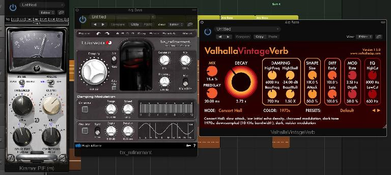 Add the final touch with effects like compression and reverb.