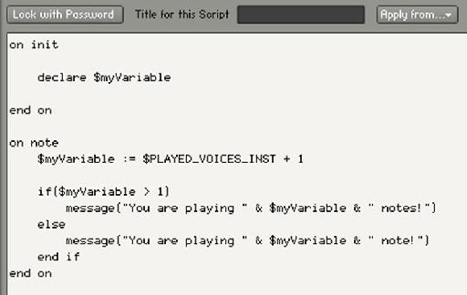 Example code 4