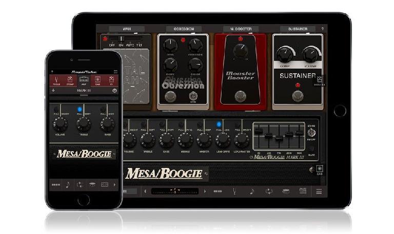 IK Multimedia Mesa/Boogie Amps for iPad & iPhone.
