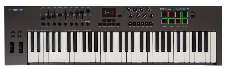 Nektar Impact LX61+ MIDI controller Keyboard