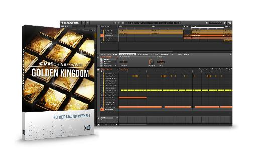 NI Maschine Golden Kingdom Expansion pack.