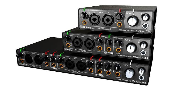 Roland Rubix line of audio interfaces.