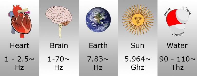 Natural frequencies.