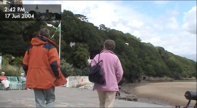 DV clip of Portmeirion in Wales, shot a long time ago