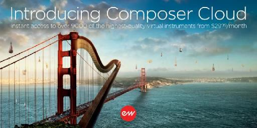 EastWest Composer Cloud brings us subscription based access to high-quality instruments.