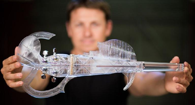 3Dvarius: World's First Playable 3D Printed Electric Violin?