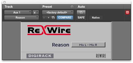 The ReWire plug-in