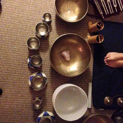 Figure 1 – My Sound Bath Set-Up Overview