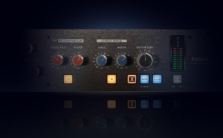 SSL Fusion Stereo Image Enhancer